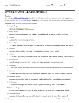 arttalk chapter 14 review questions