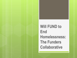 Funders - Arizona Coalition to End Homelessness