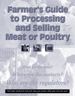 Farmers Guide to Processing and Selling Meat or Poultry