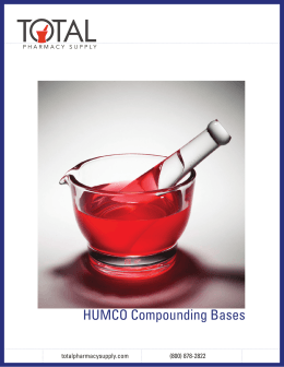 humco Compounding - Total Pharmacy Supply