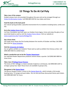 15 Things To Do At Cal Poly