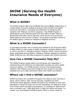 SHINE - Andoverseniorcenter.org