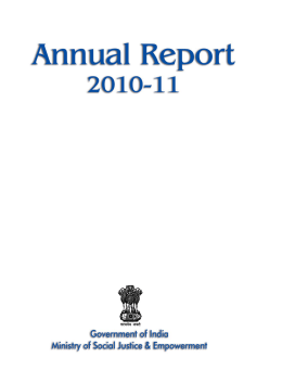 2010-11 Annual Report from the Ministry of