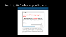 Log in to HAC – hac.coppellisd.com