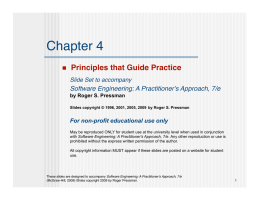 Principles That Guide Practice - Department of Biology | Emory