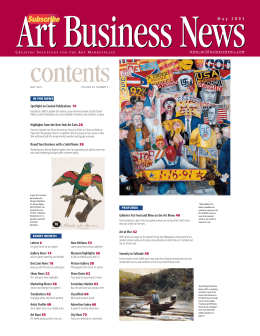 Art Business News - Robert Cenedella