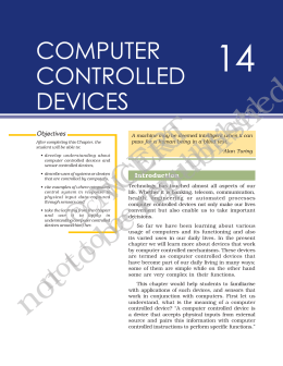 (COMPUTER CONTROLLED DEVICES).