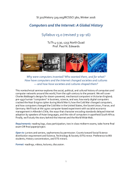global history of computers - Paul N. Edwards