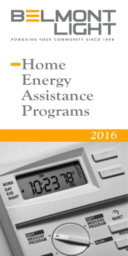 Home Energy Assistance Programs