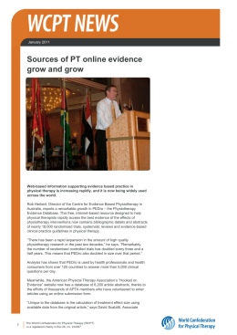 Sources Of PT Online evidence Grow And Grow