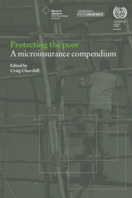 Publication - Micro Insurance Academy