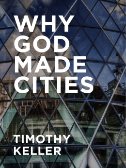 Why God Made Cities ()