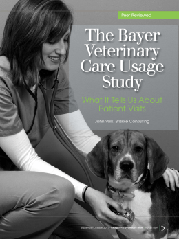 Bayer Veterinary Care Usage Study