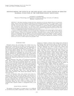 a reprint - University of California Museum of Paleontology