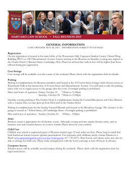general information - Harvard Law School