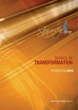 transformation - Stairway College