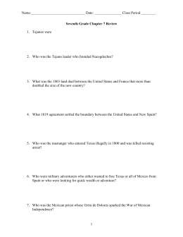 7th Grade Chapter 7 Quiz