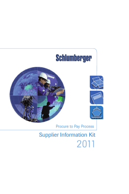 Supplier Information Kit