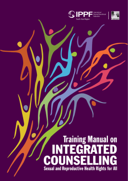 integrated counselling - International Planned Parenthood