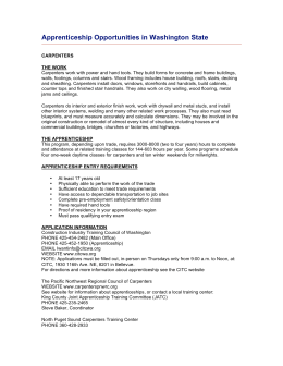 Apprenticeship Opportunities in Washington State