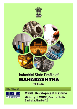 Industrial State Profile of Maharashtra