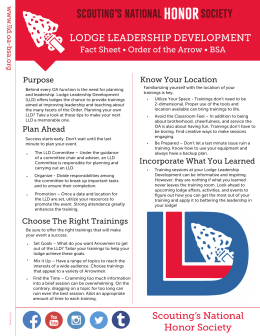 the LLD Fact Sheet