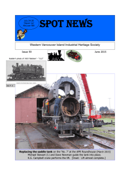 June 2015 - Alberni Valley Heritage Network
