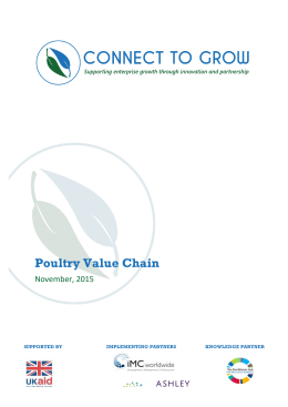 Poultry Value Chain - The Practitioner Hub For Inclusive Business