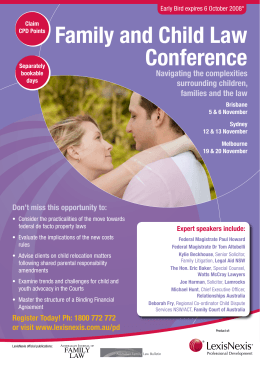 Family and Child Law Conference