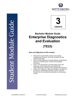 IBA3_B7_Enterprise Diagnostics and