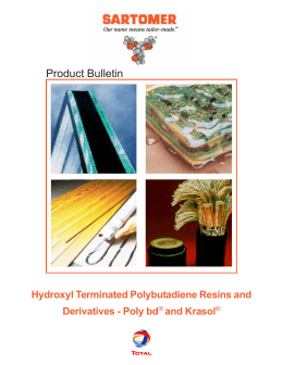 Hydroxyl Terminated Polybutadiene Resins and Derivatives