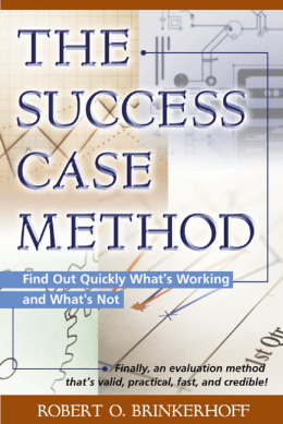 Success Case Method - Berrett