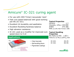 Amicure® IC-321 curing agent