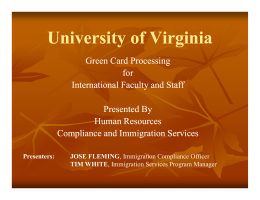 UVA Human Resources - University of Virginia