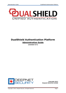DualShield Authentication Platform