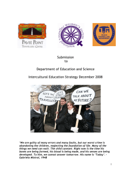 Submission to Department of Education and Science Intercultural