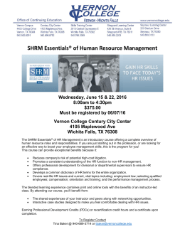 SHRM Essentials® of Human Resource