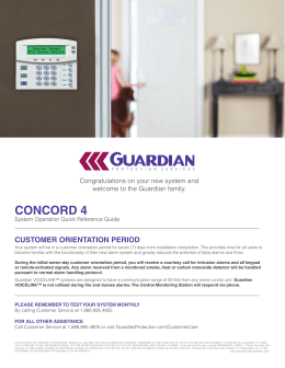 concord 4 - Guardian Protection Services