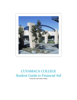 Student Guide to Financial Aid pdf
