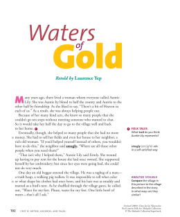 Waters of Gold - Crest Ridge R-VII