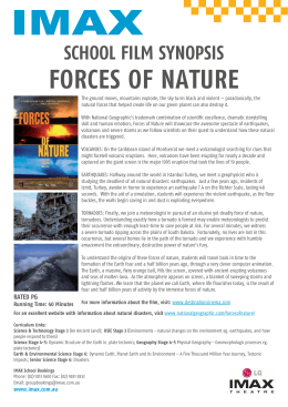 Forces of Nature Schools Synopsis.indd