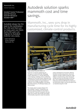 Autodesk solution sparks mammoth cost and time savings.