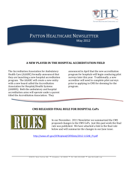 PDF - Healthcare Accreditation Consultants
