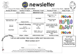 Newsletter 30 March 2015 PDF File