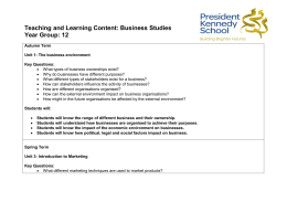 Business Studies Year 12 PDF File