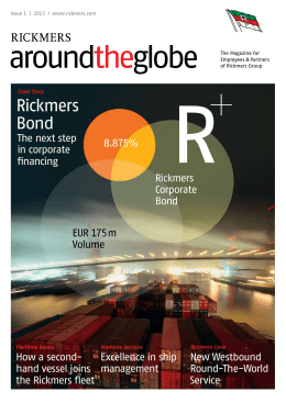 Rickmers Bond - Rickmers Group