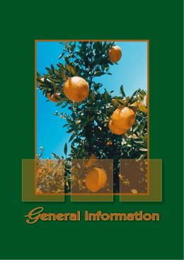 General information - Department of Agriculture