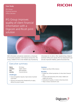 IFG Group, Ireland Case Study