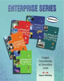 English Coursebooks at Secondary Level