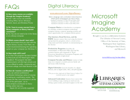 FAQs Microsoft Imagine Academy